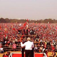 Índia: Frente de Esquerda faz manifestação com centenas de milhares